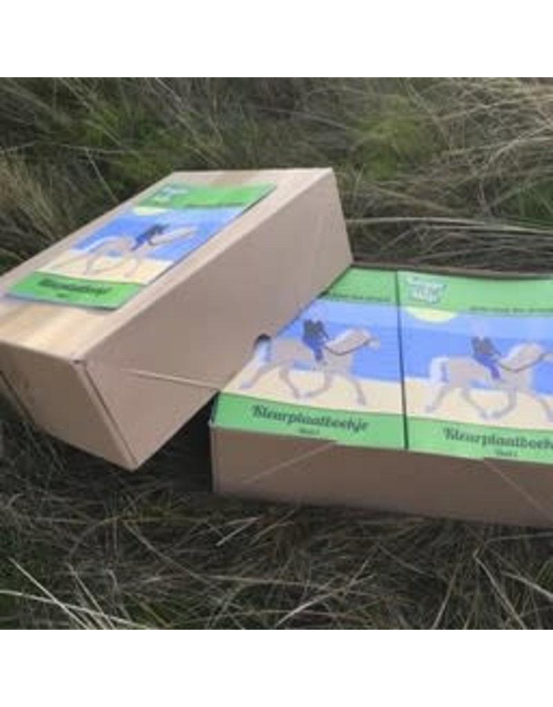 Kaatje&Mup Kaatje&Mup kleurboekje - Groen - Doos 350 stuks