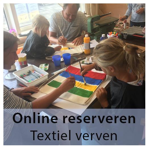Bestel kaarten - Knutselcafe -Textielverven