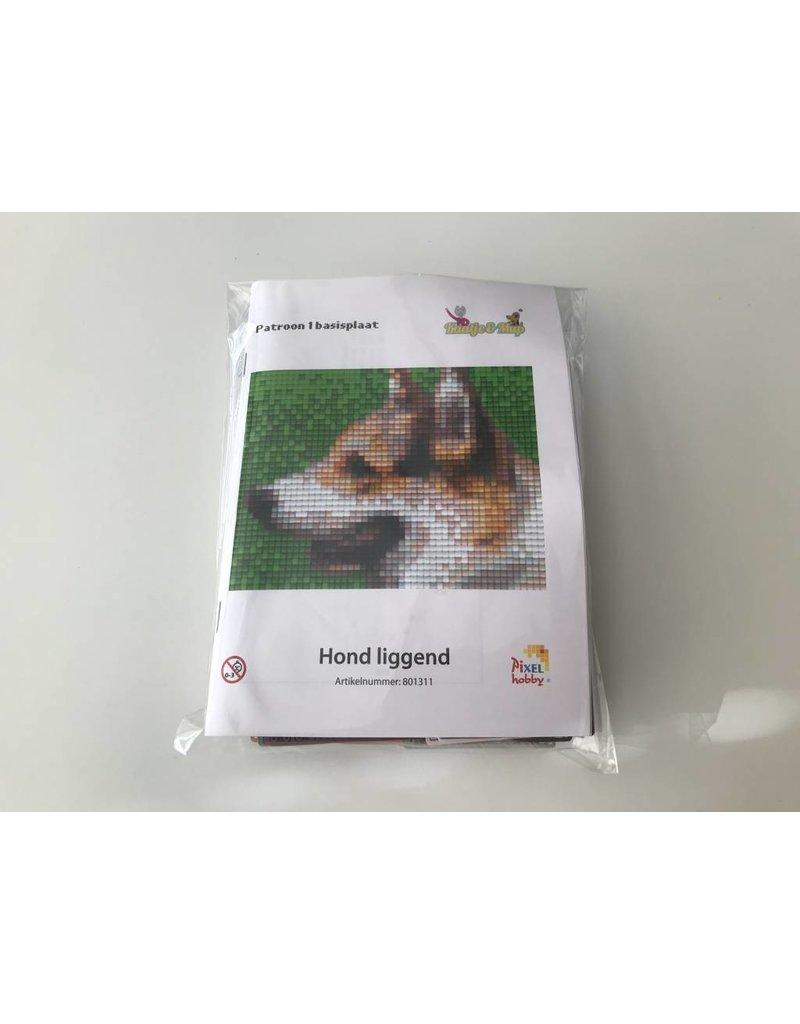 Pixel Hobby Pixel Classic set - Hond liggend