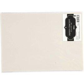 Perkamentpapier, A4 210x297 mm, 150 gr, 10 vellen, lichtgrijs