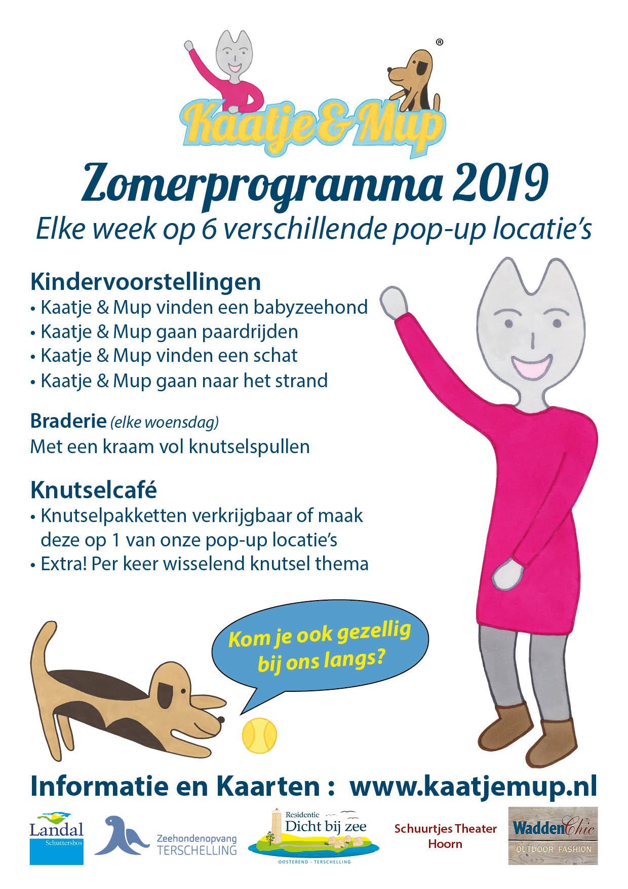 Poster Zomerprogramma