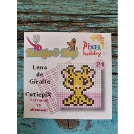 Cutiepix 24 Lena de giraffe