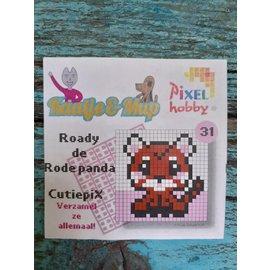 Cutiepix 31 Roady de rode panda