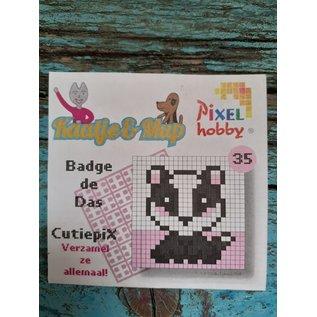 Cutiepix 35 Badge de das