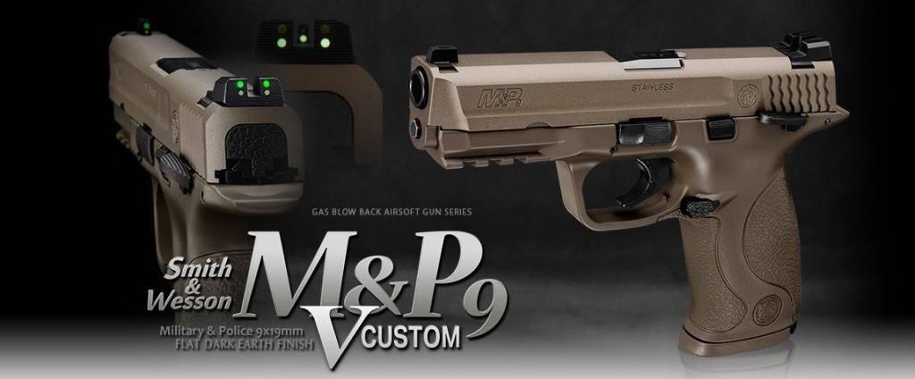 Tokyo Marui TM M&P9 V-custom