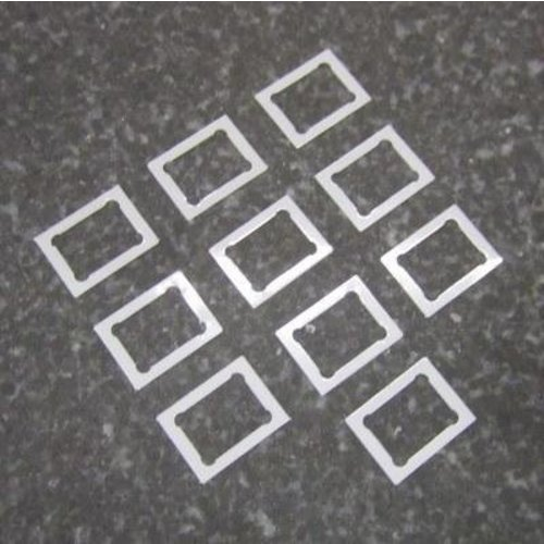 LeesPrecision CNC Machined Precision Mag Shim For Tokyo Marui Pistols (Pack Of 10)