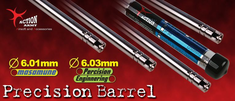 Action Army  Action Army 500mm 6.03 Inner Barrel for Type 96