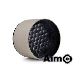 Aim-O Aim-O Anti-Reflection Lens Cover For 40mm Riflescope – Desert Tan