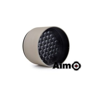 Aim-O Anti-Reflection Lens Cover For 40mm Riflescope – Desert Tan