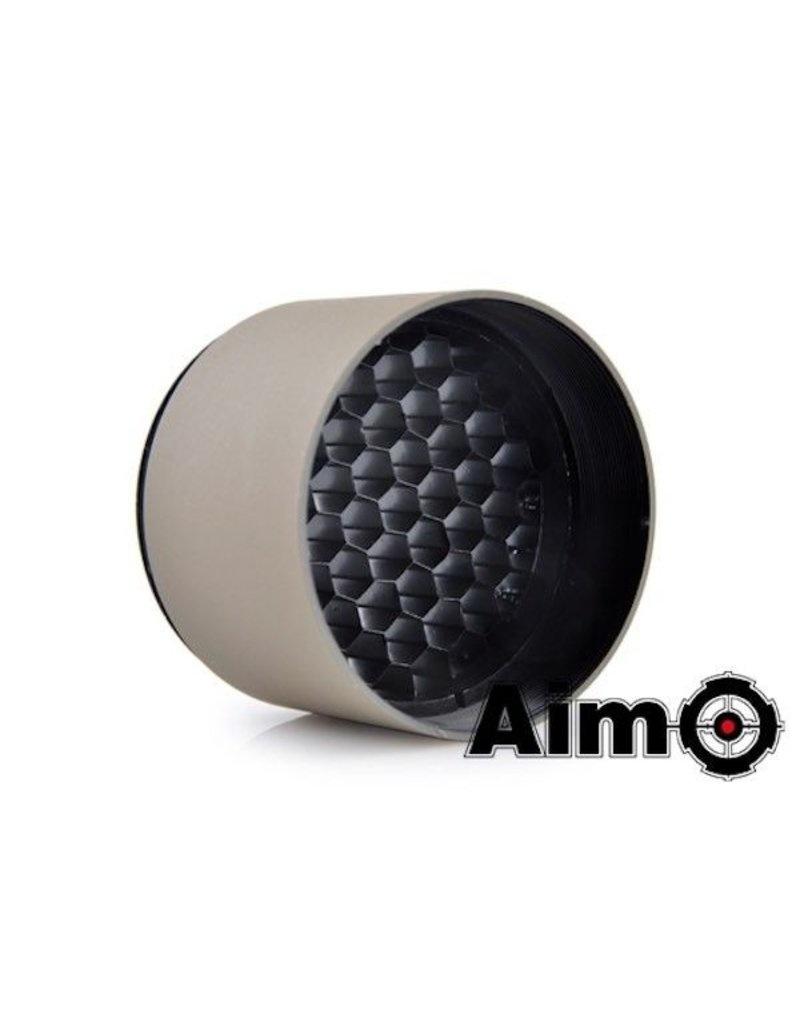 Aim-O Aim-O Anti-Reflection Lens Cover For 40mm Riflescope – Desert Tan