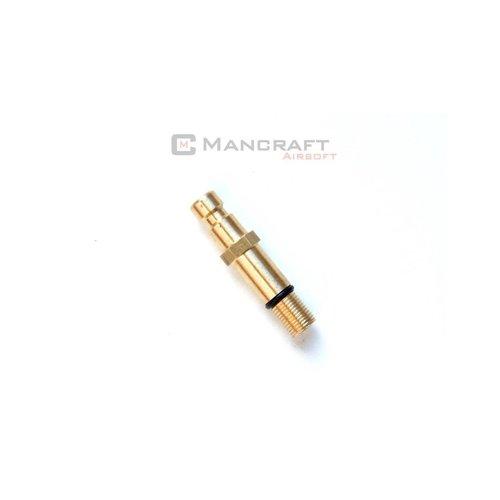 Mancraft TM SHORT Magazine Valve for HPA Pistol Lanyard