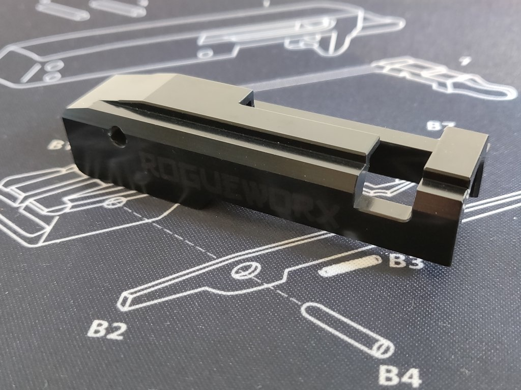 Rogue Worx KC-02 CNC Aluminium Bolt Carrier - V13