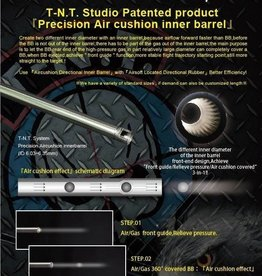 TNT Studio 470mm VSR Barrel - Unbridged