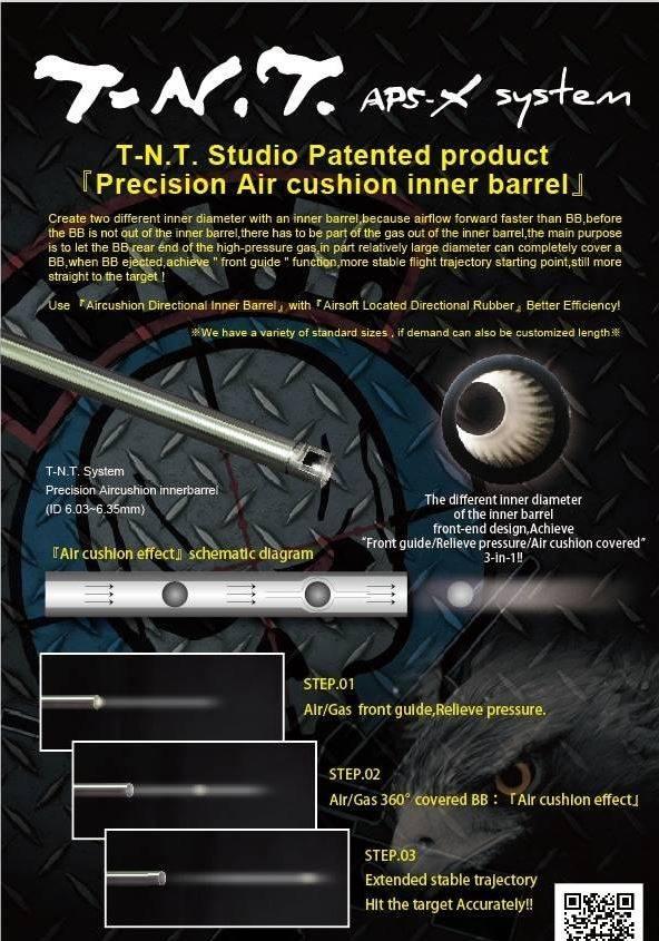 TNT Studio TNT 550mm VSR Barrel - Unbridged