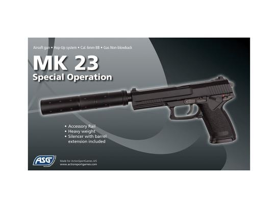 ASG ASG MK23 Special Operations NBB