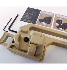 DTD MK23 Retention Holster - Tan