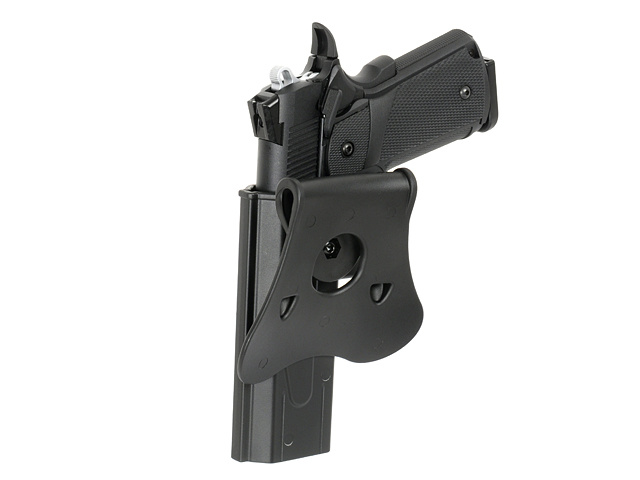 Amomax Amomax Black Speed Release Hi-Capa Holster