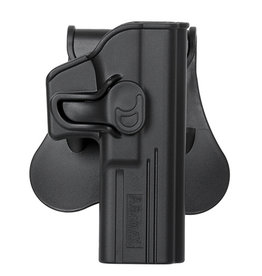 Amomax Black Speed Release Glock Holster