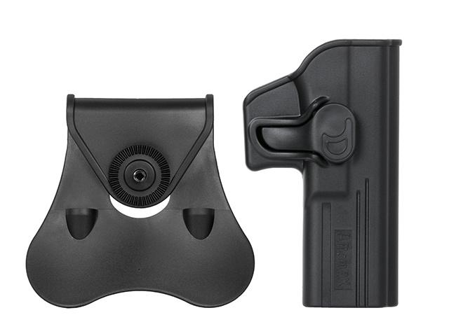 Amomax Amomax Black Speed Release Glock Holster