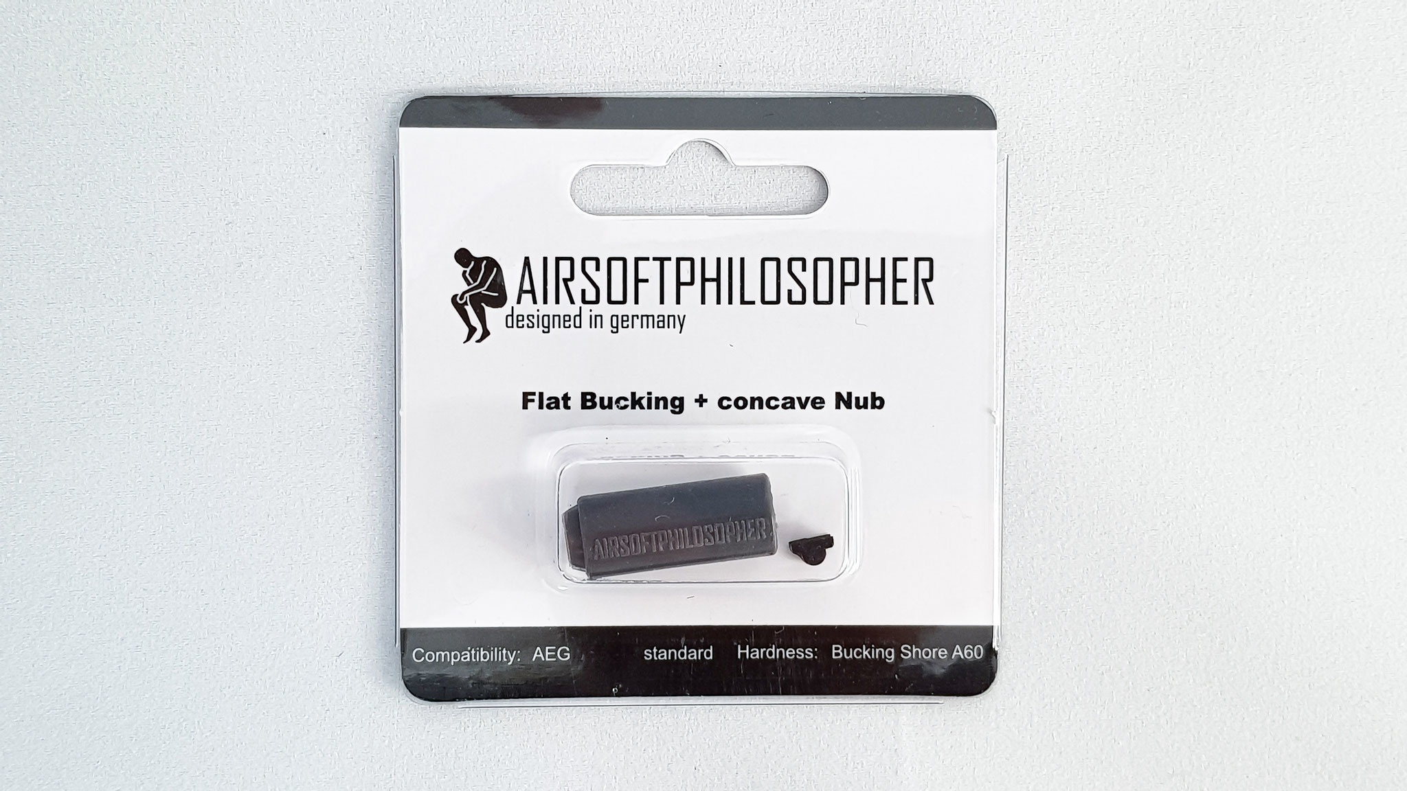 Airsoft Philosopher Airsoftphilosopher Flat AEG bucking 60º (grey)