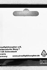 Airsoft Philosopher Airsoftphilosopher Flat VSR bucking 60º (grey)