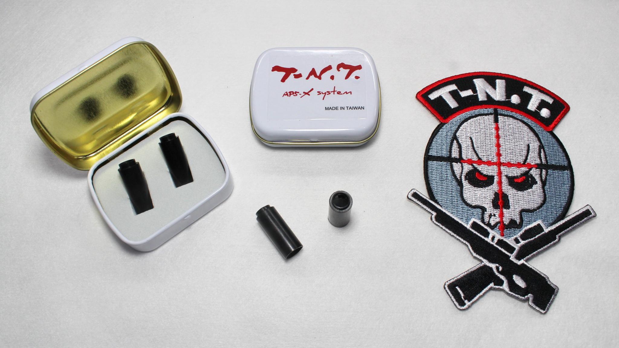 TNT Studio TR-Hop Terminator Hopup Bucking 2 pack 60°
