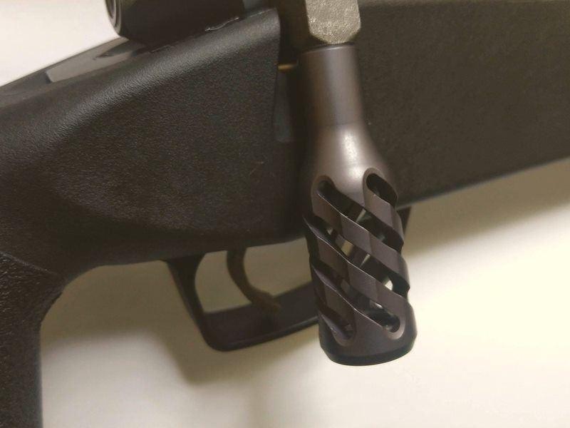 Maple Leaf Twisted Hollow full Steel Bolt Handle for VSR10