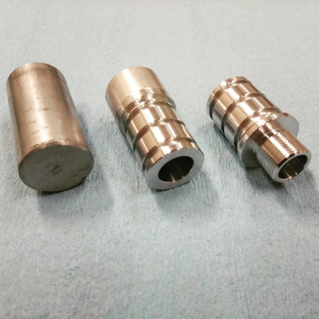 LeesPrecision LeesPrecision CNC Machined 14mm CCW Thread Adapter For Silverback SRS Carbon Barrels