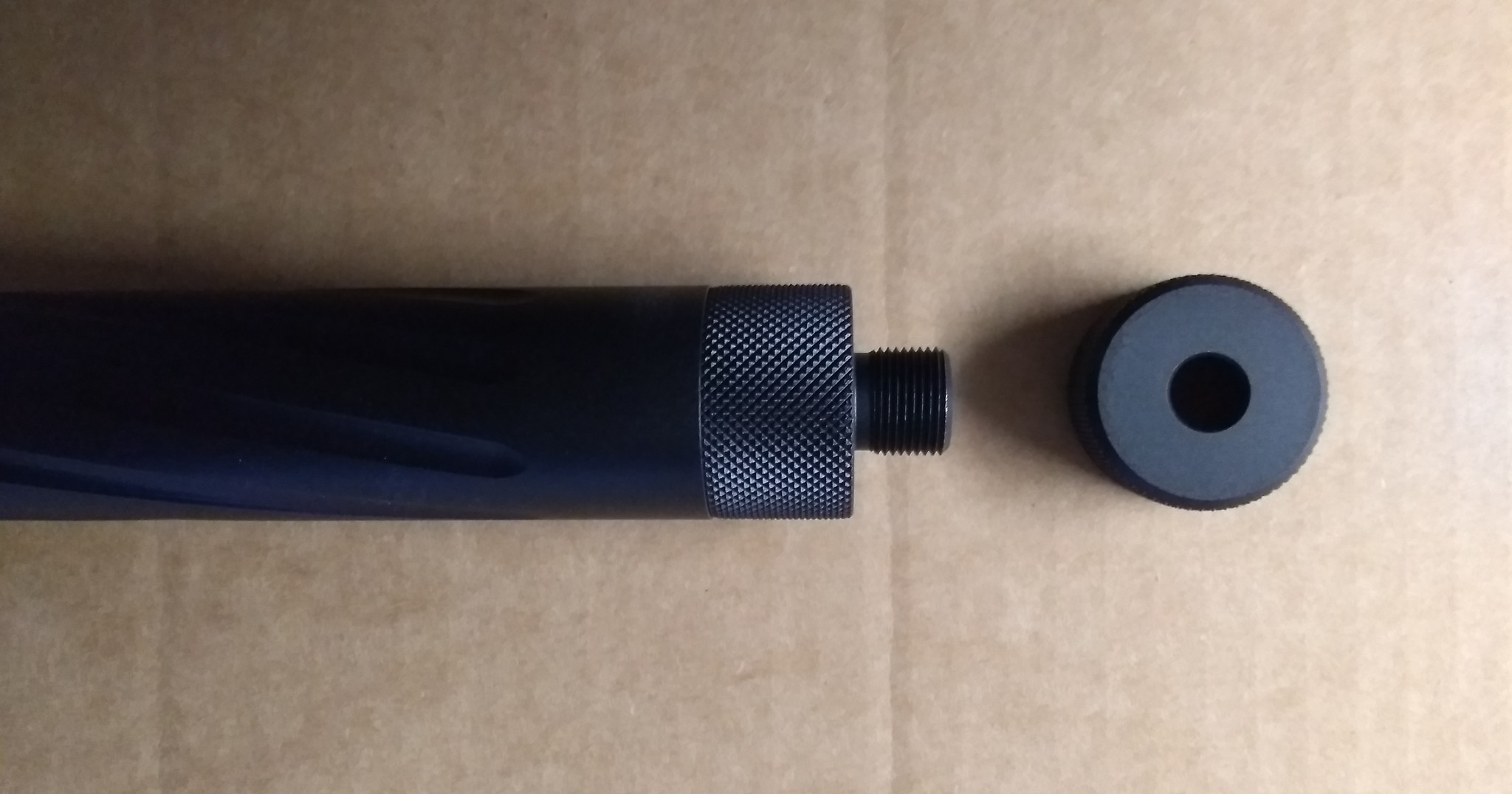 Action Army Twisted Barrel / T10 / SSG10 Sound Silencer Connector Type A
