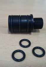 LeesPrecision LeesPrecision CNC Machined 16mm CW Thread Adapter For Silverback SRS Carbon Barrels