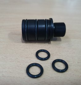 LeesPrecision CNC Machined 16mm CW Thread Adapter For Silverback SRS Carbon Barrels