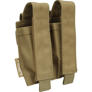 Viper Tactical Modular Double Pistol Mag Pouch - Coyote
