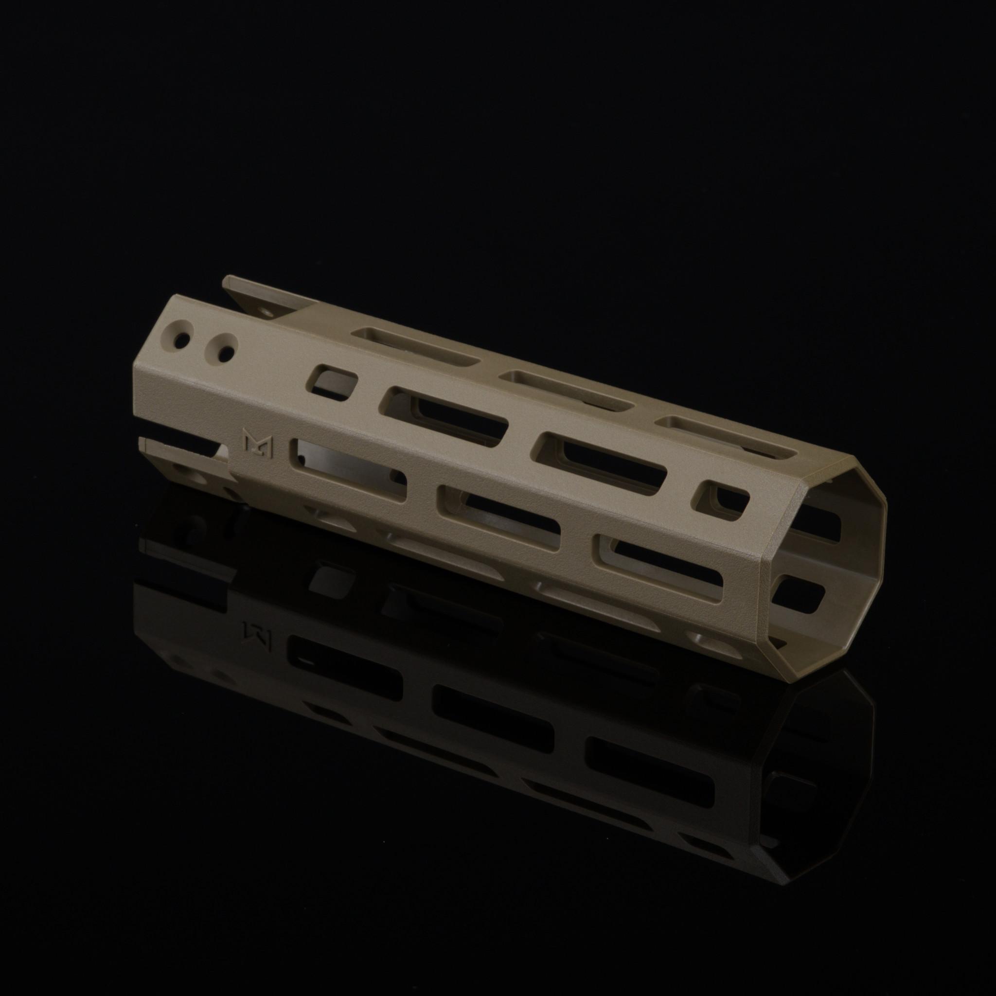 Silverback SRS-A2 Polymer Mlok Handguard - FDE