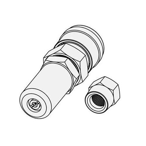 Alumyx Nail Gun Green Gas Adaptor