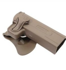 Amomax FDE Speed Release Hi-Capa Holster