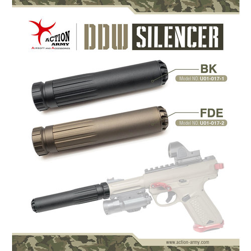 Action Army DDW Silencer for AAP-01