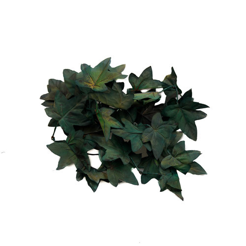'Unique' High Quality Artificial Maple Leaves (Dark Green)