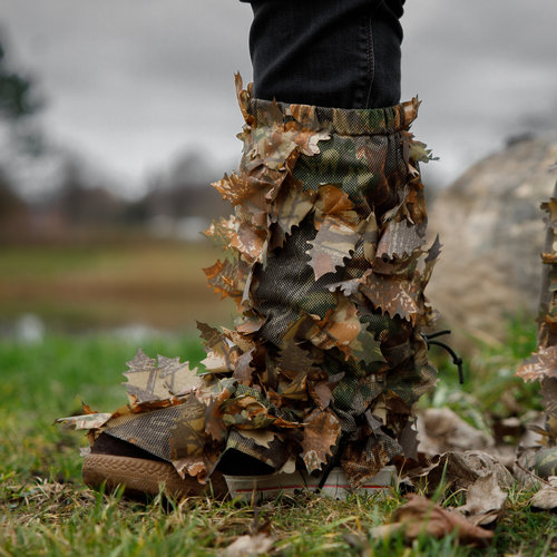 STALKER Leaf Suit Gaiters - Brown