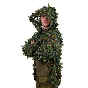 STALKER Green Combat Cape