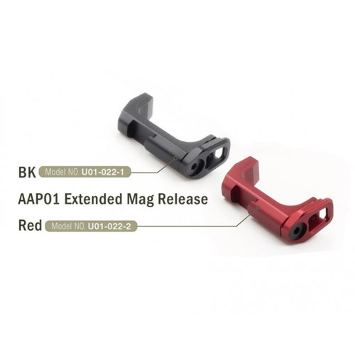 Action Army Extended Mag Release For AAP-01 - Black
