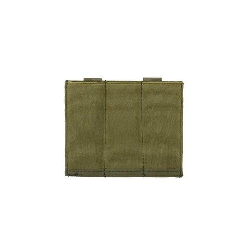 8fields Elastic Triple Pistol Mag Pouch - OD