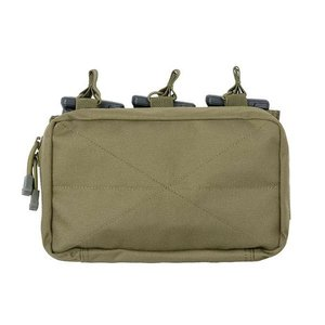 8fields Tactical Molle Triple Rifle MAG/GP Pouch - OD