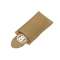 Airsoft Dead Red Rag Pouch - Coyote Tan