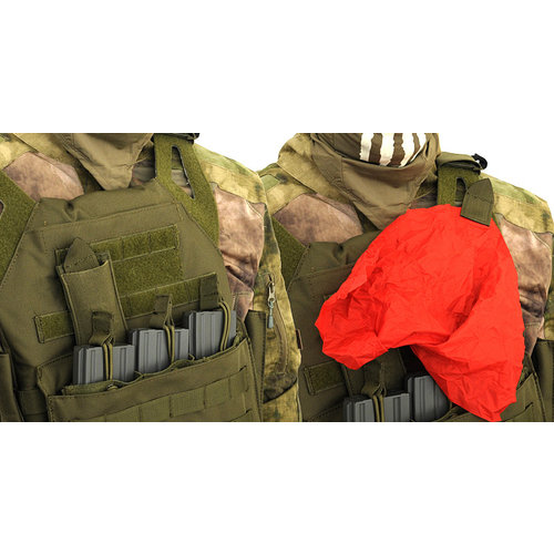 8fields Airsoft Dead Red Rag Pouch - Coyote Tan