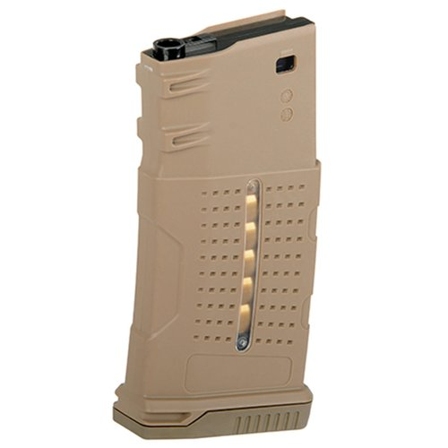 BattleAxe 220rnd Enhanced Grip Polymer Mag for AR-10/SR25 - DE