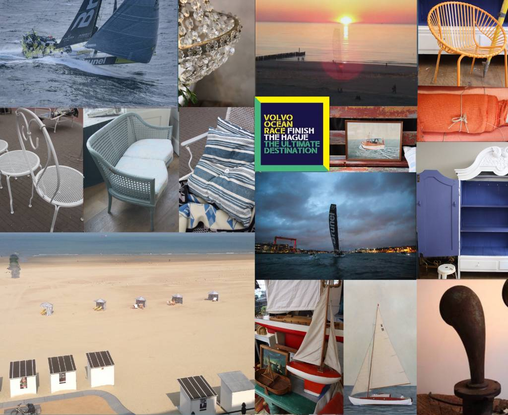 Volvo Ocean Race mood board