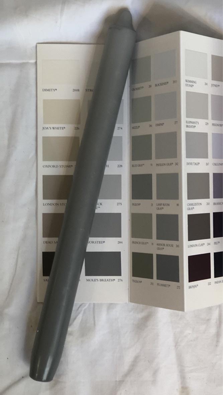 Top kwaliteit kaars in onweers grijs