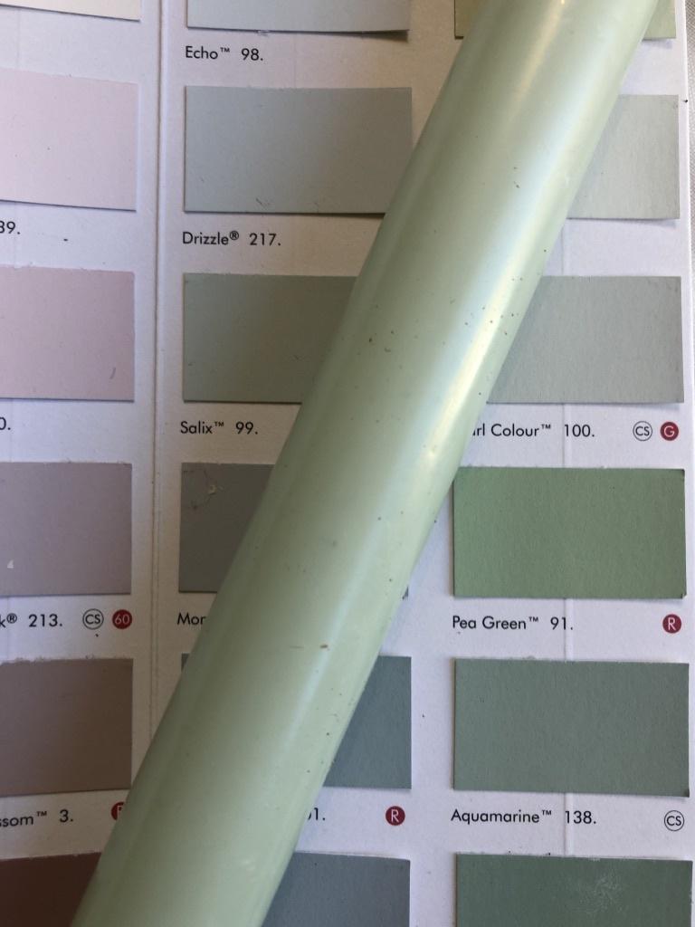 Top kwaliteit kaars in lieflijk zee groen