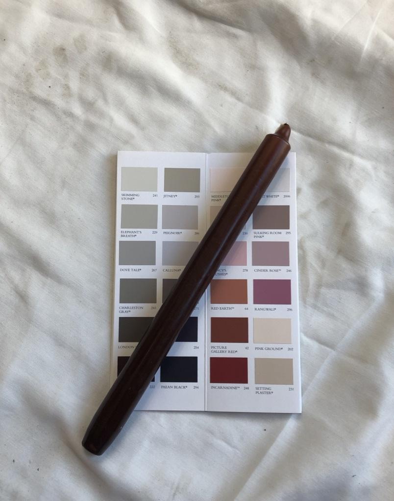 Top kwaliteit kaars in chocolade bruin
