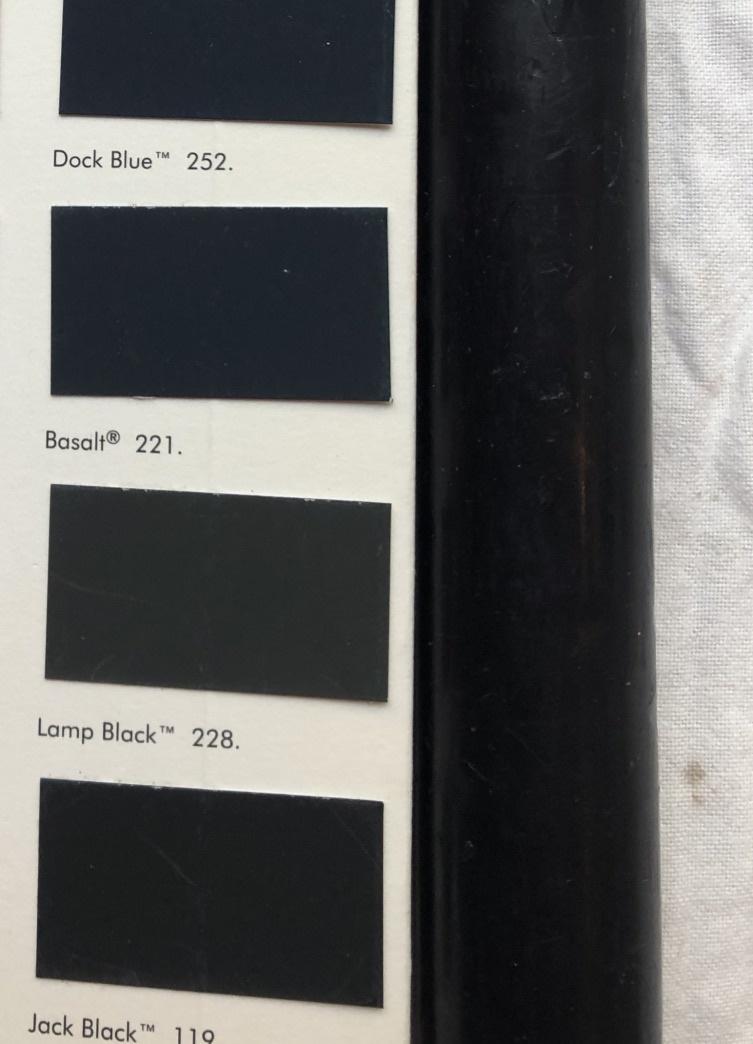 Top kwaliteit kaars in diep zwart